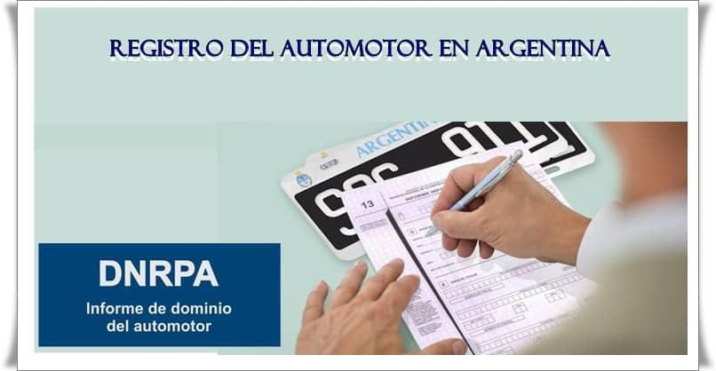 Registro del Automotor en Argentina