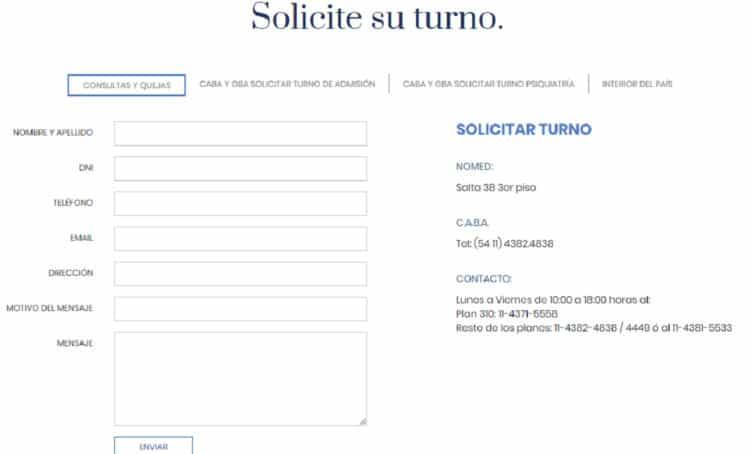 Cómo pedir turnos Accord Salud
