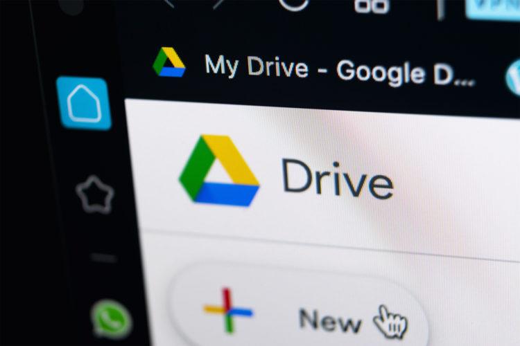como compartir archivos en google drive