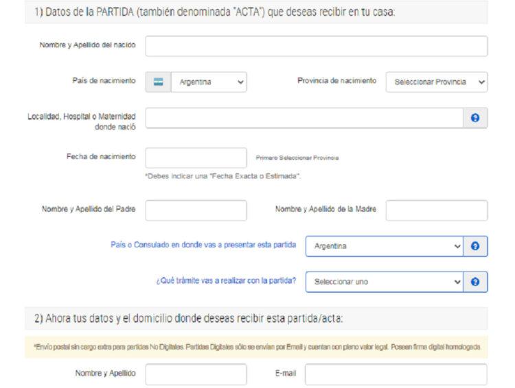 registro civil argentina nombres